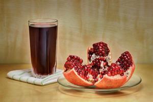 Granatapfelsaft ist auch ein Entzündungshemmer