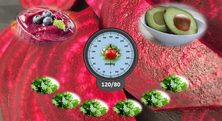 Blutdrucksenkende Lebensmittel