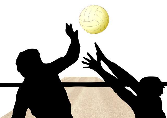Volleyball Bluthochdruck