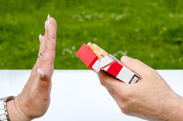 Nichtraucher werden nach Herzinfarkt